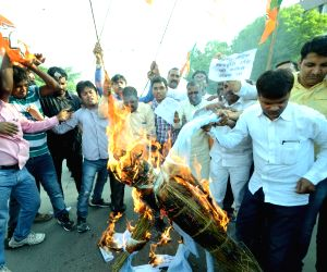 BJP's demonstration against Bihar government