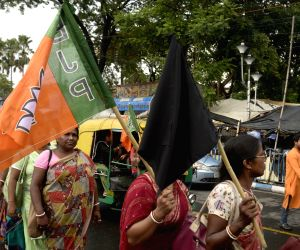 BJP's demonstration over Purulia killings
