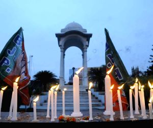 BJP's candle march