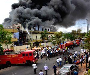 Fire at Jaipur footwear factory