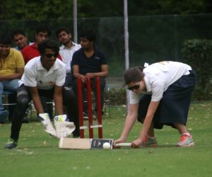 Blind cricket exhibition match