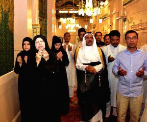 Medina (Saudi Arabia): Khaleda Zia visits Medina