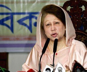 Dhaka (Bangladesh): Khaleda Zia during iftar party