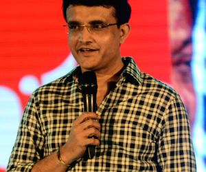 Sourav Ganguly felicitated