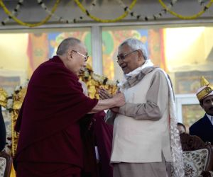Bodh Gaya: Nitish Kumar meets Dalai Lama in Bodh Gaya
