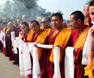Bodh Gaya: 17th Gyalwang Karmapa Ogyen Trinley Dorje offers prayers for World Peace