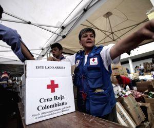 COLOMBIA BOGOTA ENVIRONMENT LANDSLIDE AID