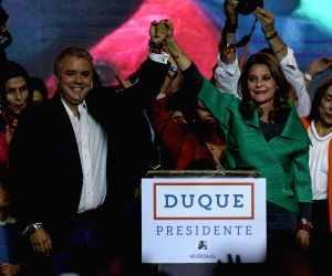 COLOMBIA-BOGOTA-PRESIDENTIAL ELECTION-SECOND ROUND