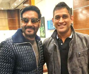 Ajay Devgn meets Dhoni: Cricket, films uniting religion of India