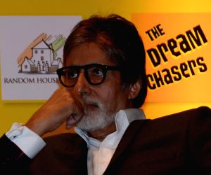 Amitabh Bachchan during launch of the novel The Dream Chaser