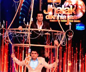 John Abraham on Jhalak Dikhhla Jaa Season 6 sets