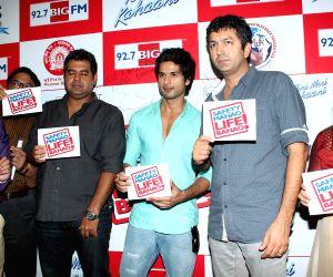 Shahid Kapoor at Big FM