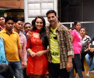 Rowdy Rathore CID on location