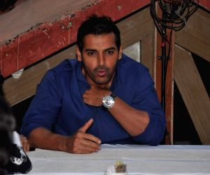 John Abraham interacts with Female Journalists