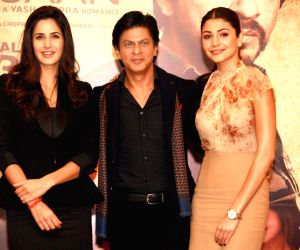 press conference for the film '' Jab Tak Hai Jaan