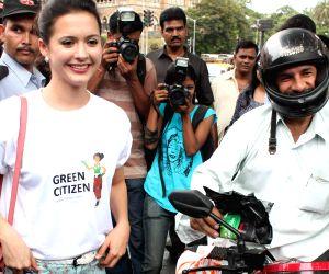 Isha Sharwani supports the Go Green Initiative