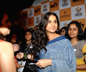Vidya Balan visits WIFT Workshop in association with Anmol Jewellers