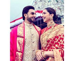 Ranveer Singh and Deepika Padukone visit Golden Temple on wedding anniversary