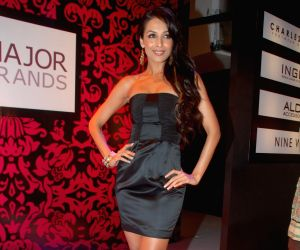 Bollywood item girl Malaika Arora Khan walks the ramp for Major Brands at G7 Mall in Versova.