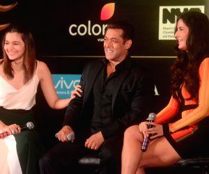 IIFA Awards - Alia Bhatt, Salman Khan and Katrina Kaif press conference