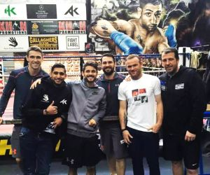 Boxer Amir Khan to watch ISL