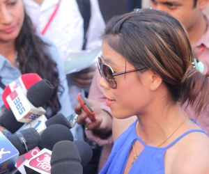 Mary Kom during North East Festival