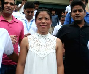 Mary Kom during a programme