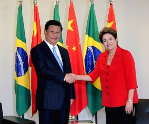 40th anniversary of establishment of China-Brazil diplomatic relations, in Brasilia, Brazil