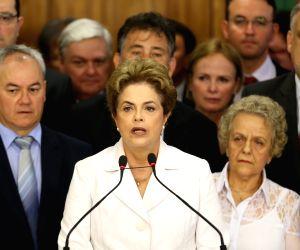 BRAZIL BRASILIA IMPEACHMENT ROUSSEFF
