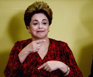 BRAZIL BRASILIA PRESIDENT IMPEACHMENT NULLIFY