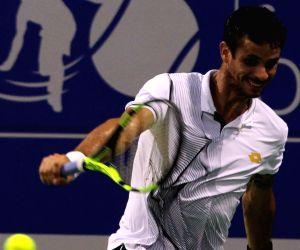 ATP Chennai Open 2017 - Rogerio Dutra Silva Vs Roberto Bautista Agut