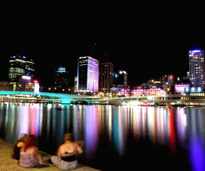 Brisbane (Australia): G20 Summit light show