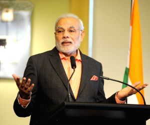 PM Modi  at the business breakfast hosted by the Premier of Queensland