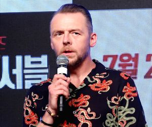 Simon Pegg fascinated with India