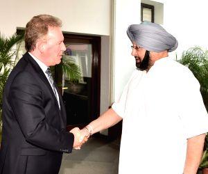 British Deputy High Commissioner Andrew Ayre calls Punjab CM Amarinder Singh