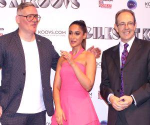 Ileana D'Cruz walks for British designer Giles Deacon