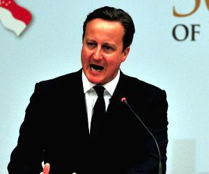 British ex-PM Cameron hails Modi's leadership