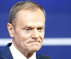 EU's Tusk meets Austrian chancellor over migration