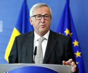 BELGIUM BRUSSELS EU UKRAINE JUNCKER GROYSMAN0 MEETING