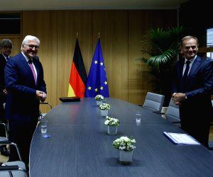 BELGIUM BRUSSELS EU TUSK GERMANY PRESIDENT MEETING