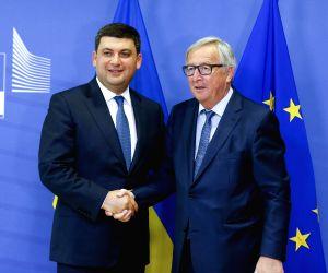 BELGIUM-BRUSSELS-EU-UKRAINE-GROYSMAN-VISIT