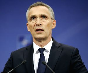 BELGIUM BRUSSELS NATO SUMMIT SECRETARY GENERAL PRESS CONFERENCE