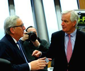 BELGIUM BRUSSELS EU MEETING BREXIT