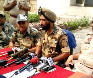 BSF's press conference on Pakistani boat seized in Punjab river