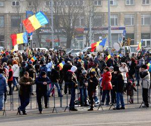 ROMANIA BUCHAREST PROTEST