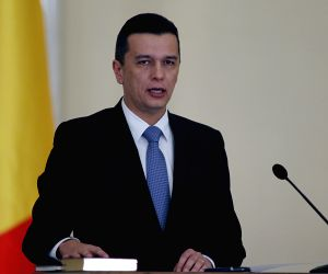 ROMANIA BUCHAREST NEW CABINET SWORN IN