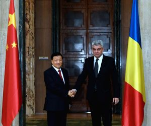 ROMANIA CHINA LIU YUNSHAN VISIT