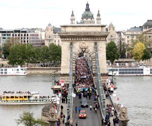 HUNGARY BUDAPEST HOLOCAUST REMEMBERANCE