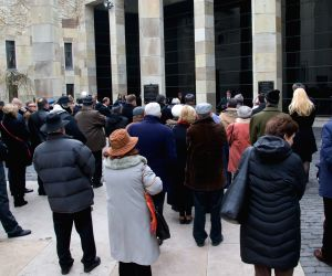 HUNGARY BUDAPEST HOLOCAUST REMEMBRANCE