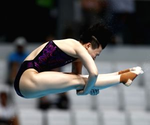 HUNGARY-BUDAPEST-DIVING-FINA WORLD CHAMPIONSHIPS-WOMEN 3M SPRINGBOARD FINAL